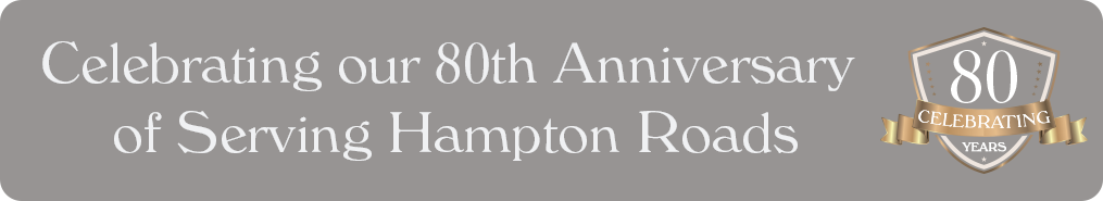 80th anniversary of serving Hampton Roads